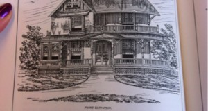 Projekt typowy domu sprzed 100 lat. (Anglia)