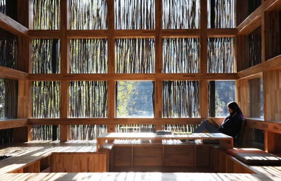 nowoczesna biblioteka domowa biblioteczka 2