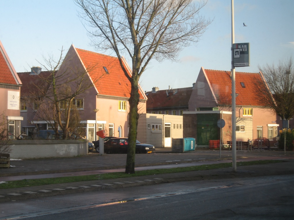 Amsterdam - Osiedle - Szeregówki, Bliźniaki, Kondominia