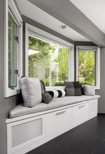 Parapet Do Siedzenia Miejsce Pod Oknem Bay Window Wykusz