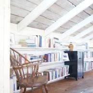 Biblioteczka na poddaszu