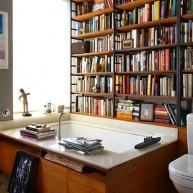 Biblioteczka w łazience ;]