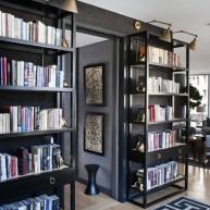 Półki ażurowe na książki