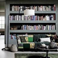 Biblioteczka dekoracyjna