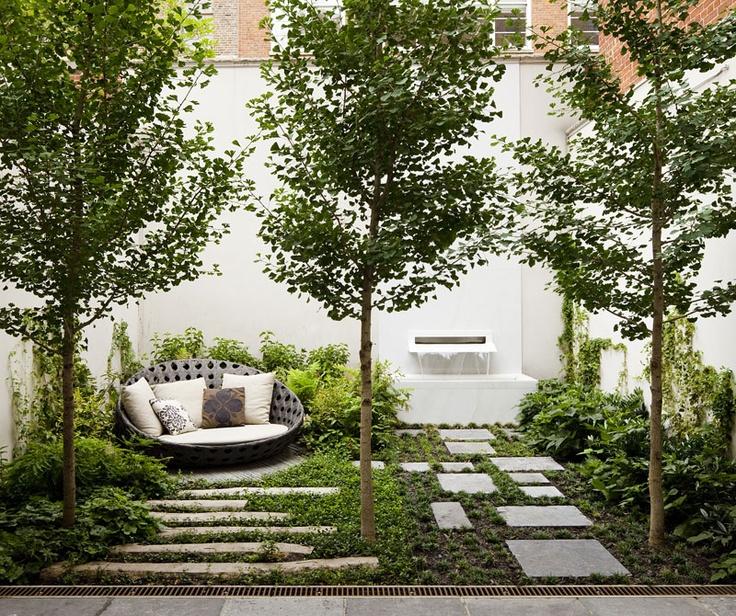 fotos de jardins urbanos : fotos de jardins urbanos:mały ogródek przy domu 4 – Architekt o Architekturze i wyjątkowych
