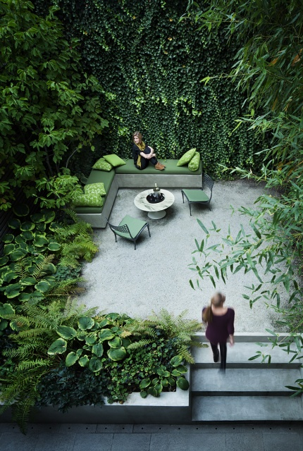 Ma y ogr dek przy domu 5 architekt o architekturze i for Garden sit out designs
