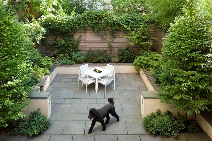 Ma y ogr dek przy domu 8 architekt o architekturze i for Tiny garden ideas patio townhouse