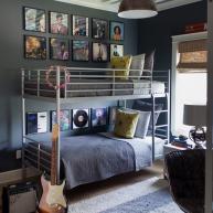 Łóżko piętrowe nawet w pokoju nastolatków może być fajne!