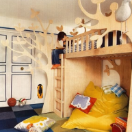 Dobry stolarz albo Ty ;] Wytnij coś ciekawego do dziecięcego pokoju - to nie kosztuje dużo!