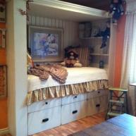 Taka sypialnia pasuje również dla nastoletniego dzieciaka!