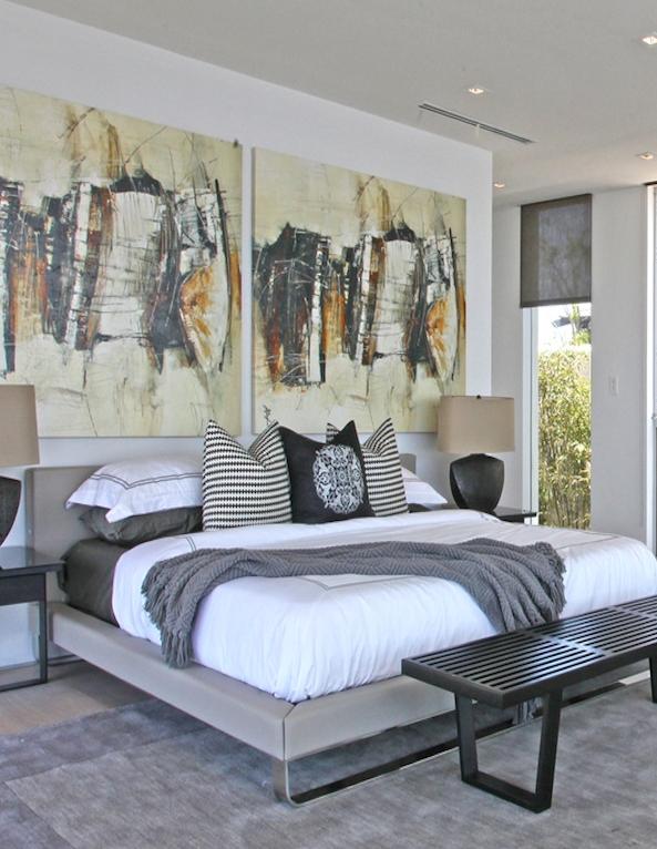 pomysl na sypialnie nowoczesna sypialnia 2 - Architekt o Architekturze i wyjątkowych projektach.