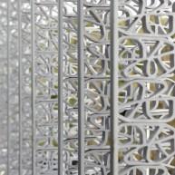 Detal elewacji Green Energy Laboratory (LABORATORIUM) projekt: Archea