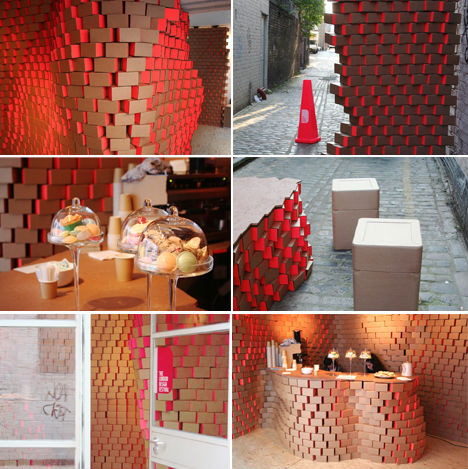 Cardboard Cafe, Londyn, Anglia