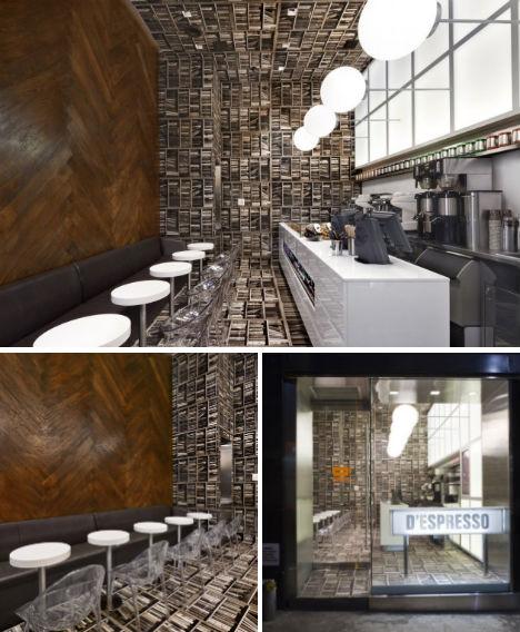 D'espresso Cafe, Nowy York, USA