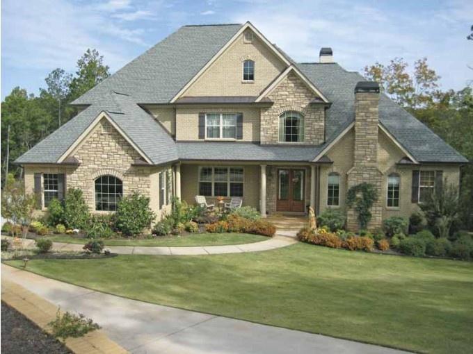 Ameryka skie domy podmiejskie czy mog by inspiracj for Typical american house plan