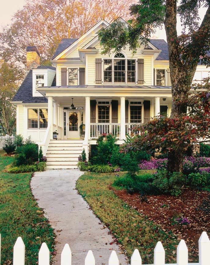 Ameryka skie domy podmiejskie czy mog by inspiracj for Cute house pictures