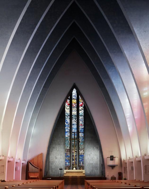 Kościół Fritza Hogera, Berlin,1933.