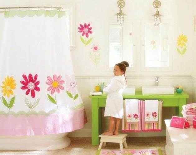 Ta sama łazienka w wersji dla dziewczynki ;]
