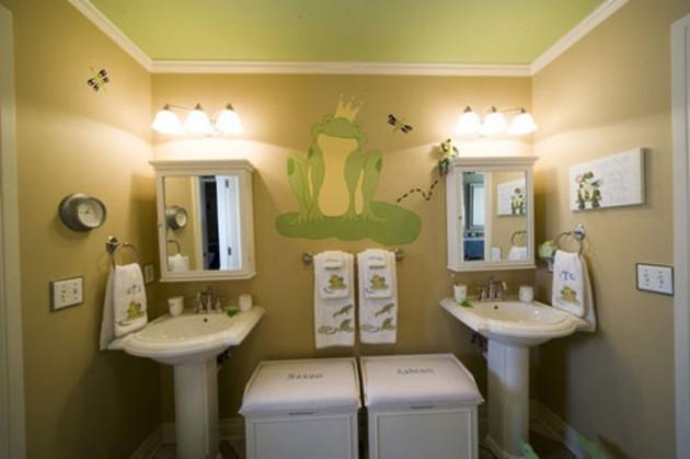 Niewielka zmiana w łazience? Dzięki temu łazienka może dorastać z Twoimi dziećmi!