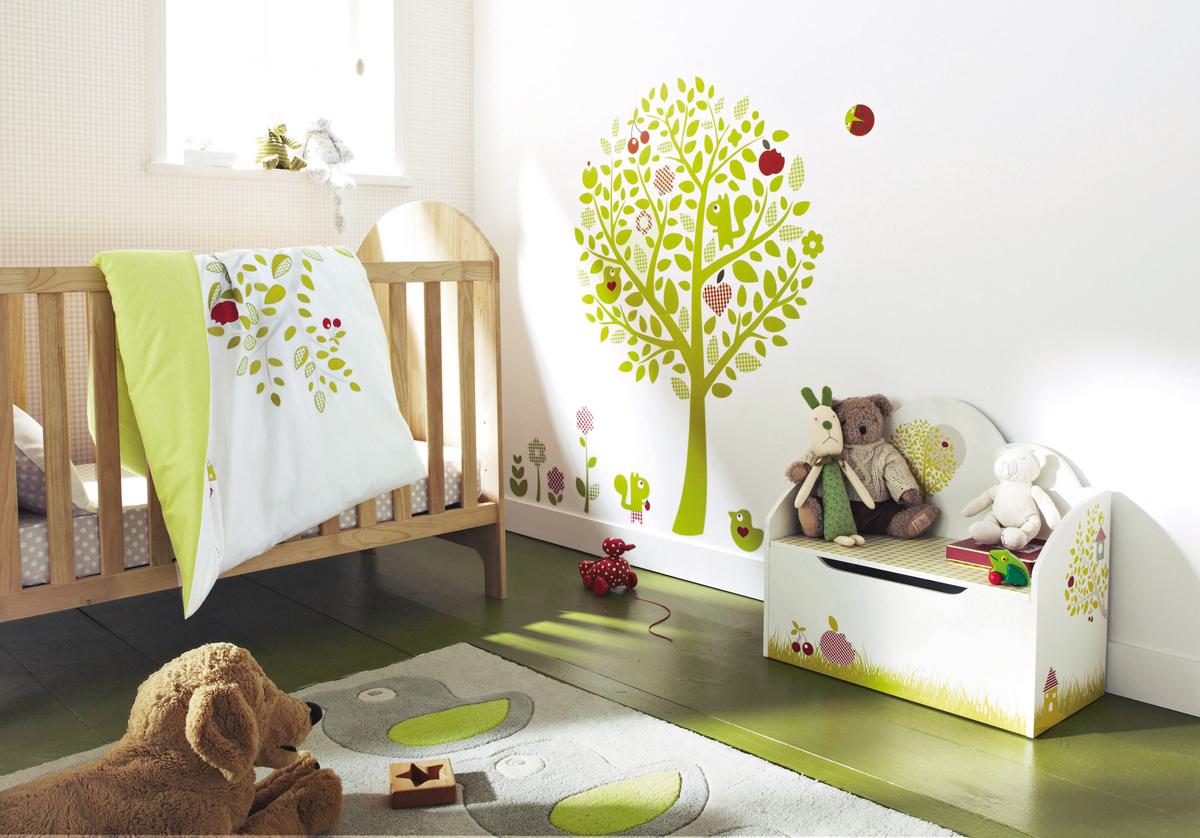 Pokoik dla niemowlaka niemowlecia jak urzadzic pomysly 19 for Chambre de bebe vertbaudet