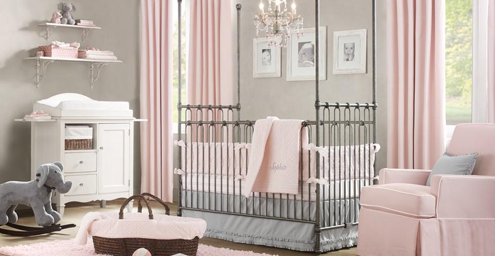 Pokoik dla niemowlaka niemowlecia jak urzadzic pomysly 31 architekt o architekturze i - Attractive images of black and white baby nursery room decorating design ideas ...