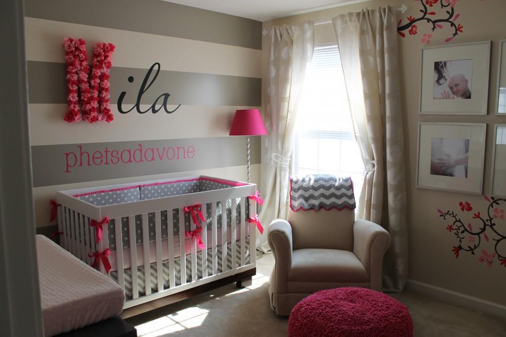 Pokoik dla niemowlaka niemowlecia jak urzadzic pomysly 35 architekt o architekturze i - Adorable baby girl bedroom ideas and inspirations ...