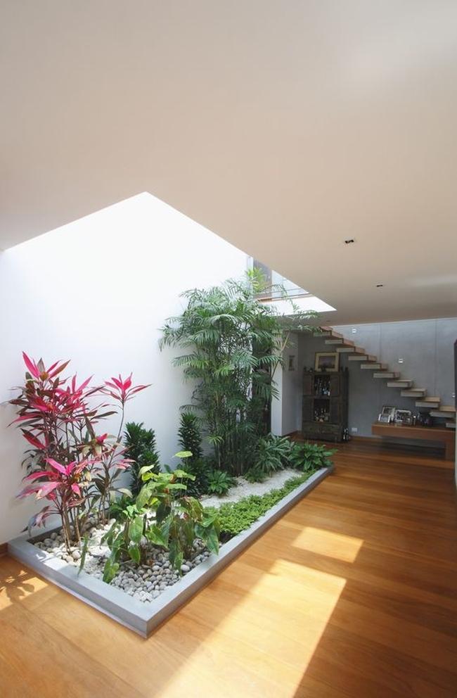 zieleń we wnętrzu inspiracje interior garden 00
