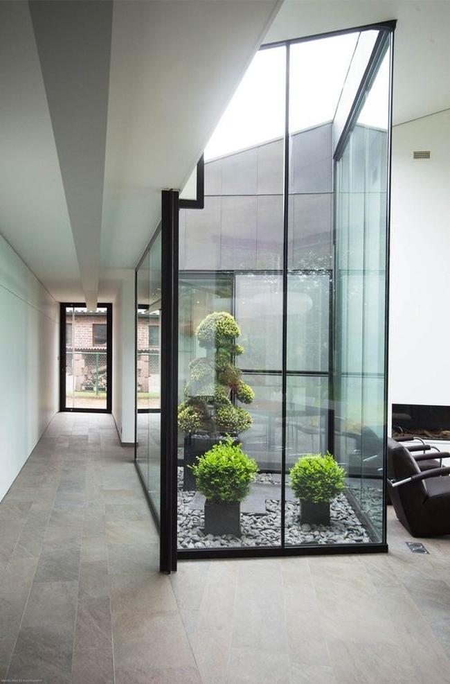 zieleń we wnętrzu inspiracje interior garden 18