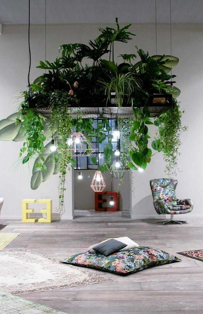 zieleń we wnętrzu inspiracje interior garden 21