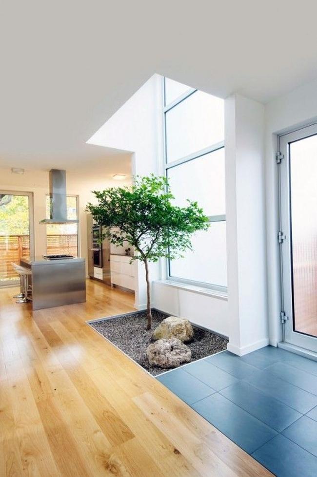 zieleń we wnętrzu inspiracje interior garden