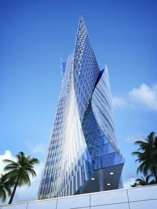 Rosewood Hotel, Projekt: Handel Architects LLP, Zjednoczone Emiraty Arabskie