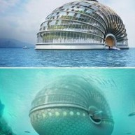 Floating Arc Hotel, Projekt:  Remistudio, Bahamy
