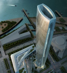 Greenland Group Suzhou Center, Prpjekt: SOM, Chiny