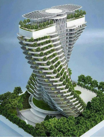 Agora Garden, Projekt: Vincent Callebaut, Tajwan