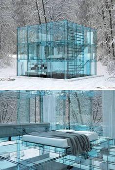 Glass House Project, Carlo Santambrogio