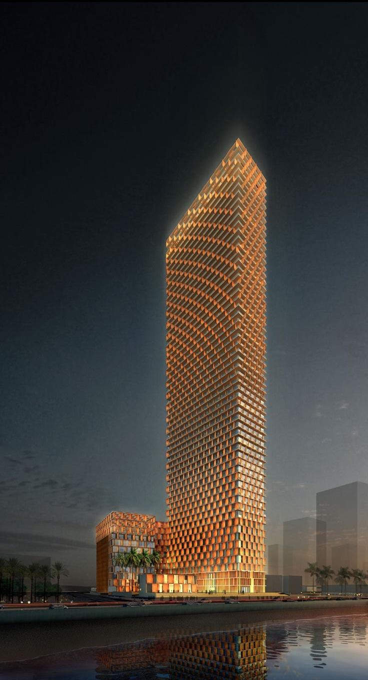 Kempinski Hotel, Projekt: Perkins+Will, Arabia Saudyjska