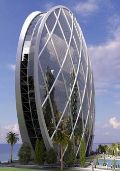 Aldar Properties Spherical Office, Projekt: MZ&Partners, Zjednoczone Emiraty Arabskie