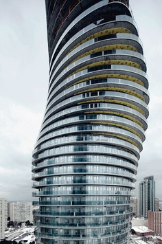 Absolute World Towers, Projekt: Burka Architects& MAD Studio, Kanada