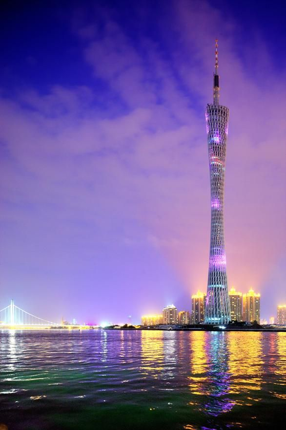 Canton Tower, Projekt: Information Based Architecture+Arup, Chiny