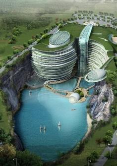 Sonhjiang Hotel, Projekt: Atkins, Szanghaj
