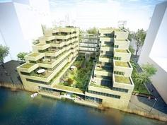 OPZUID, Projekt: Renzo Piano, Amsterdam