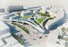 Green Walking Mall, Projekt: Unika Architecture&Urbanism, Ukraina