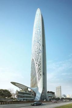 Namaste Tower, Projekt: Atkins, Indie