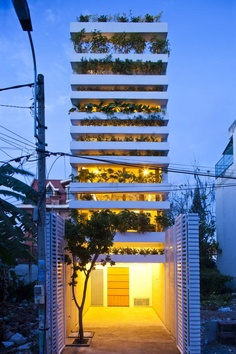 Stacking Garden, Projekt: Vo Trong Nghia Co Ltd., Wietnam