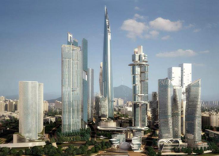 Yongsan International Business District, Projekt: REX, Seul