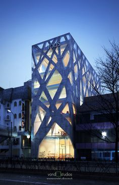 Tod's Omotesando Building, Projekt: Toyo Ito&Associates, Japonia