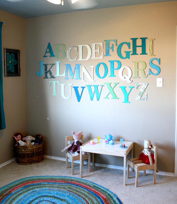 Fantastyczny Dekoracje pokoju dziecięcego- 25 inspiracji. Zobacz to! RO13