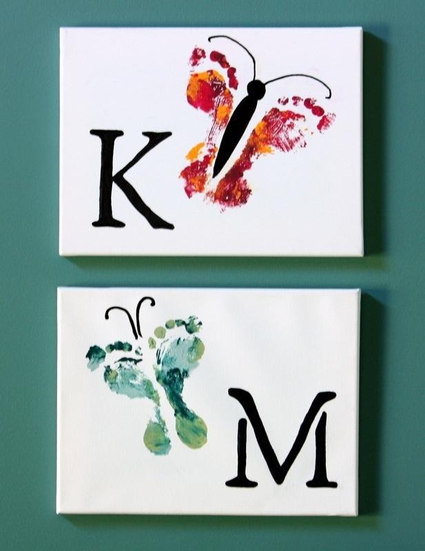 dekoracja-pokoju-dziecka-Malunki farbami olejnymi na blejtramie - dla kreatywnego malucha.
