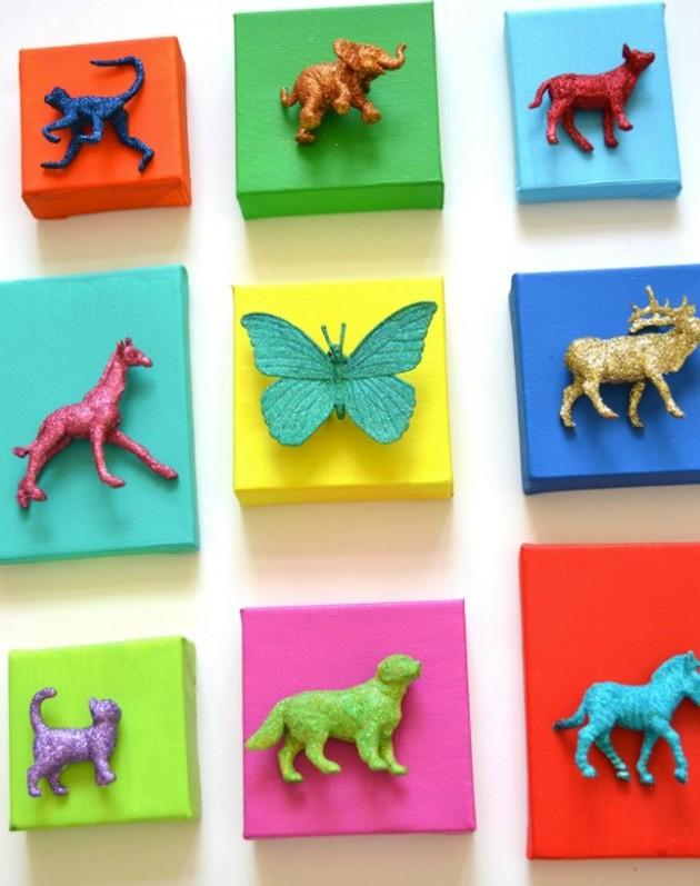 dekoracje pokoju dziecięcego