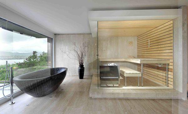 domowa sauna